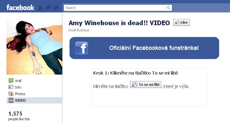 Facebook Likejacking 1