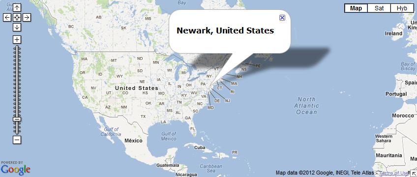 IP adress - Map