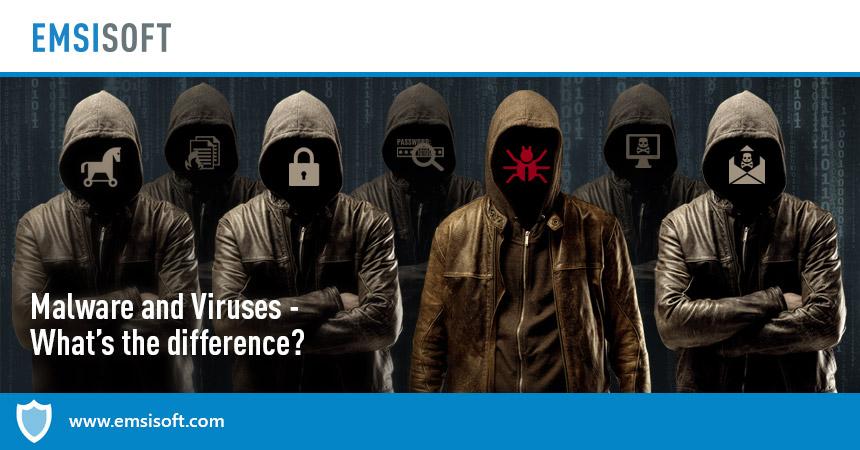 Logiciels malveillants et virus – quelle est la différence ?