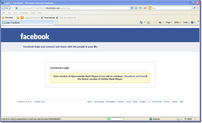 Betrugsversuche in sozialen netzwerken so funktioniert for Mock facebook page template