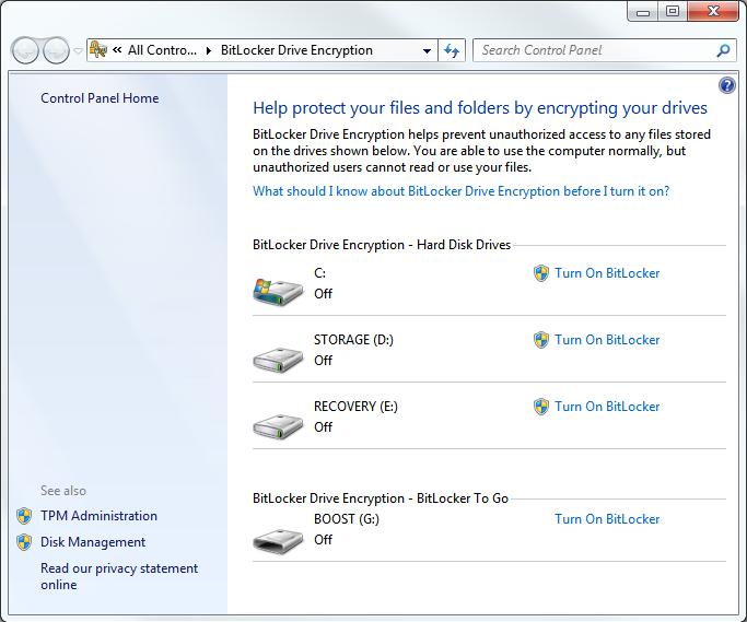 Bitlocker Software Vs Hardware Encryption Performance