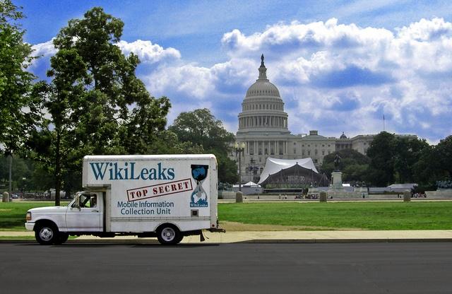 Wikileaks-LKW