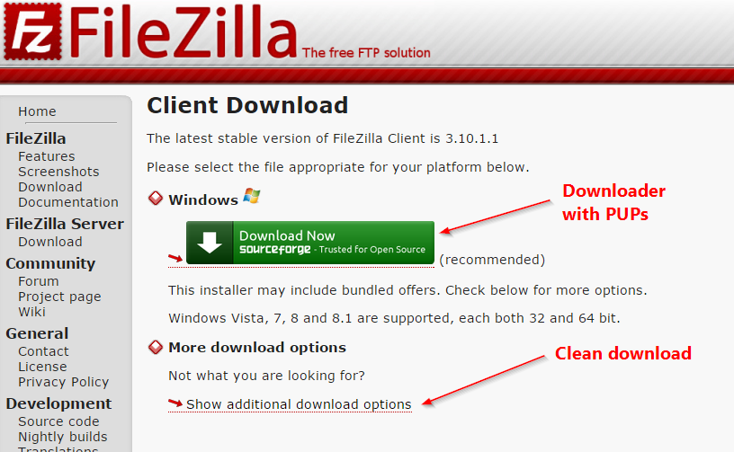 FilezillaSourceForgeDownloader_152302