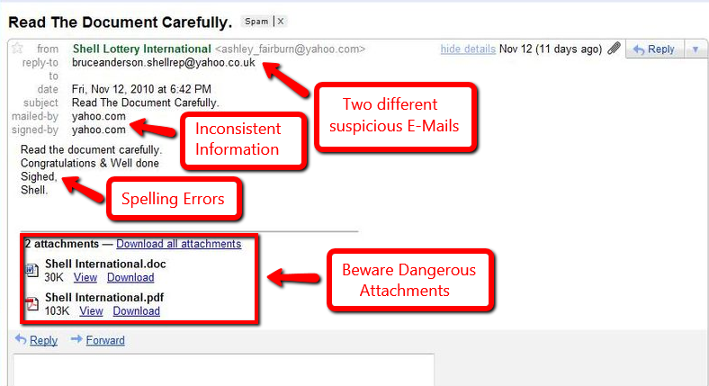 Safe emails vs scams: the key differences | Emsisoft