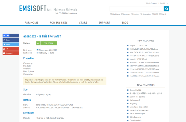 EN_Emsisoft Anti-Malware_isthisfilesafe