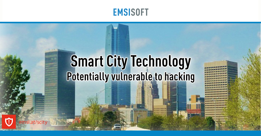 Smart city technology could be potentially vulnerable to hacking