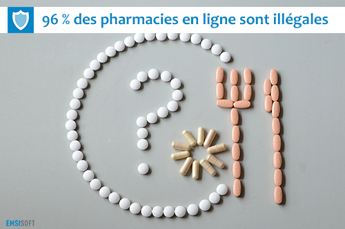 Escroquerie aux fausses pharmacies