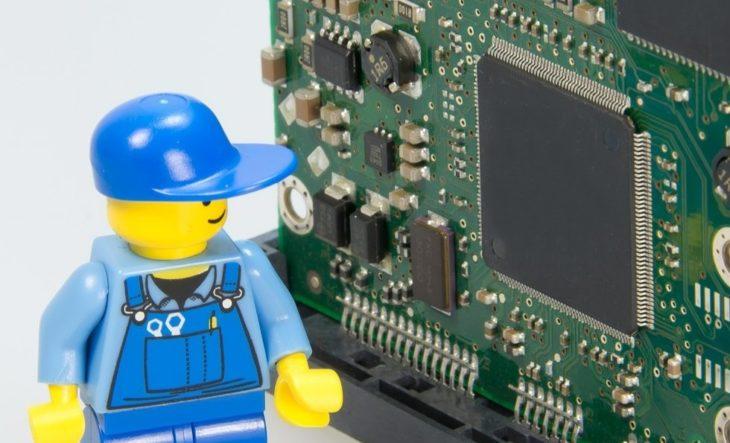 Employé de maintenance LEGO