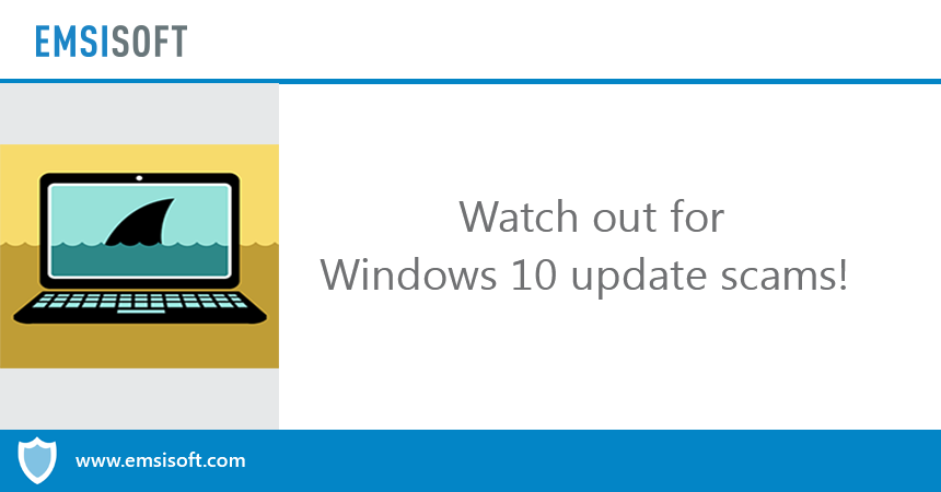 Beware! That Windows 10 update message could be ransomware in disguise