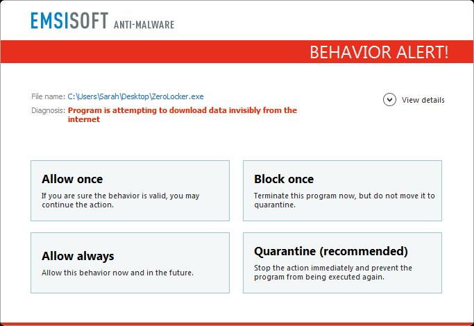 Comment le faire et bien : Analyse de comportement d'Emsisoft vs. 20 types de rançongiciels ...