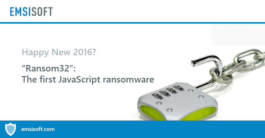 Meet Ransom32: The first JavaScript ransomware
