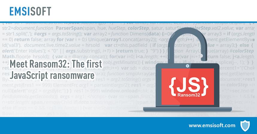 Meet Ransom32: The first JavaScript ransomware