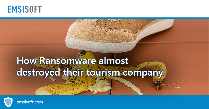 True story: Ransomware almost destroyed their tourism company