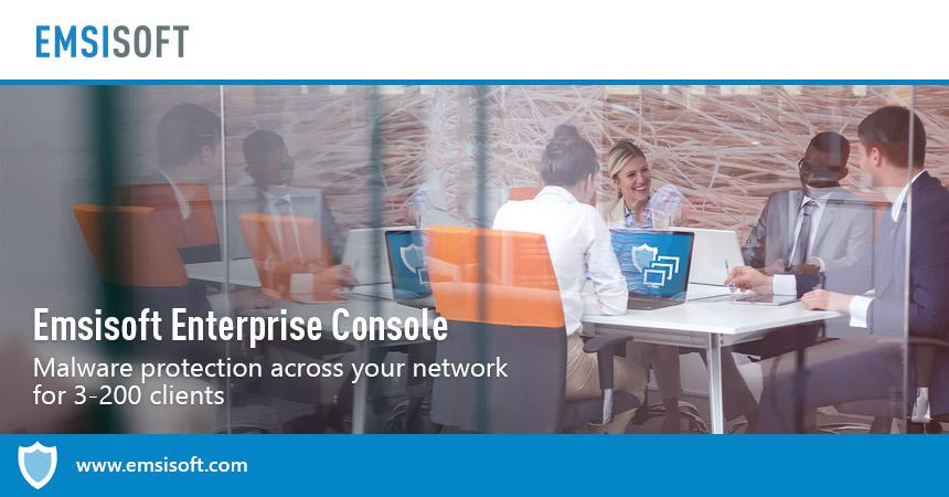 Как использовать Emsisoft Enterprise Console для управления защитой локальных сетей