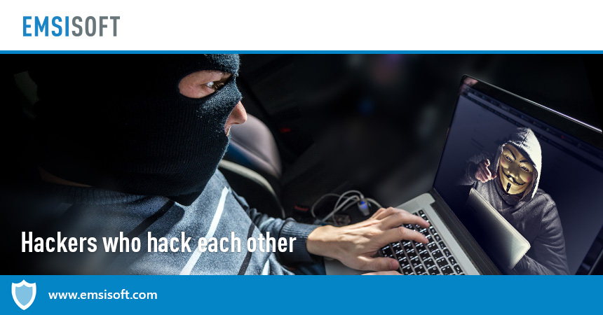 No honour among thieves: hackers who hack each other