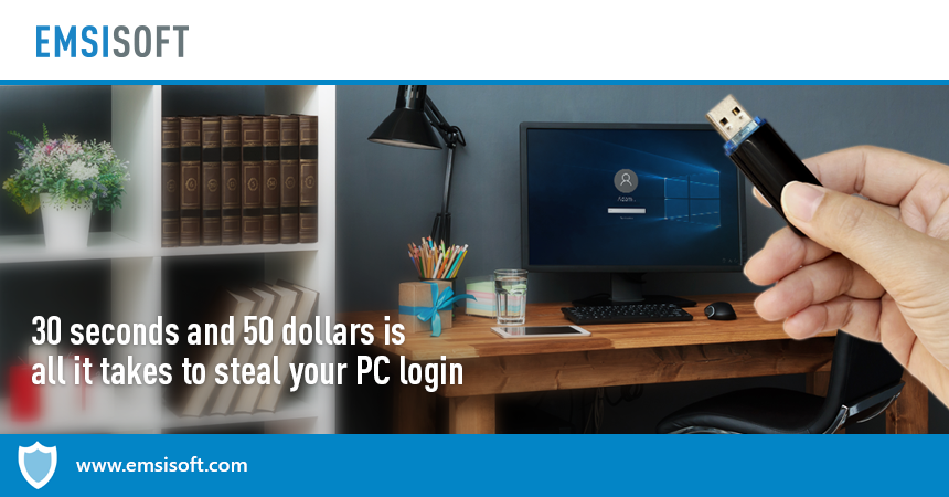 30 seconds and 50 dollars is all it takes to steal your PC login