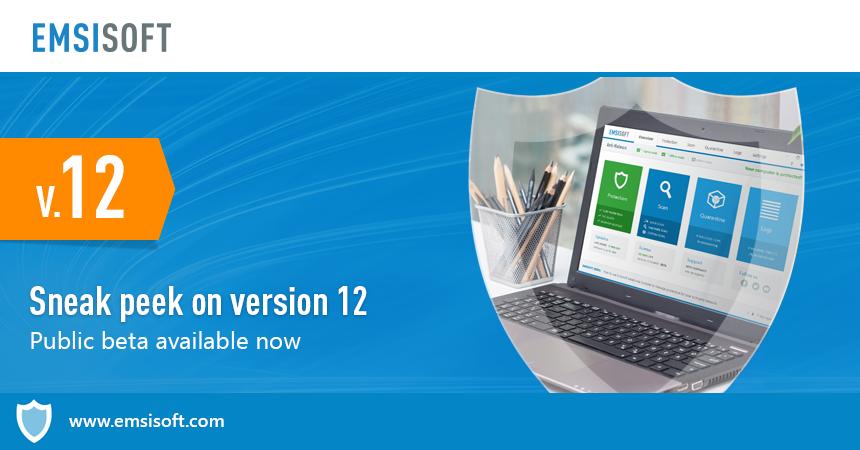 Sneak peek on version 12 – Public beta available now