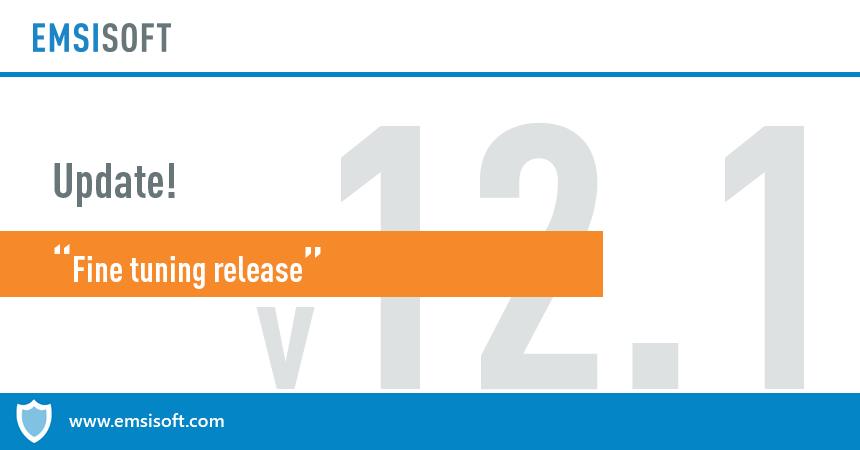 Emsisoft Anti-Malware & Emsisoft Internet Security 12.1 released