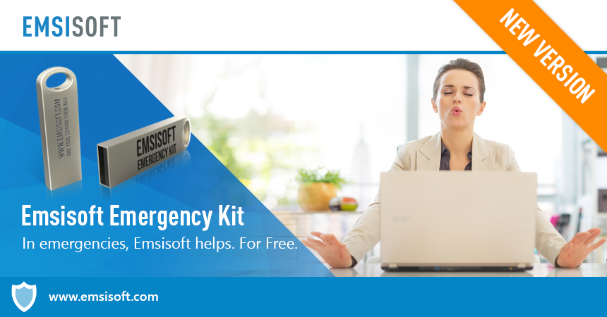 NEW: Emsisoft Emergency Kit 12 – Dual-engine tools for double the cleaning