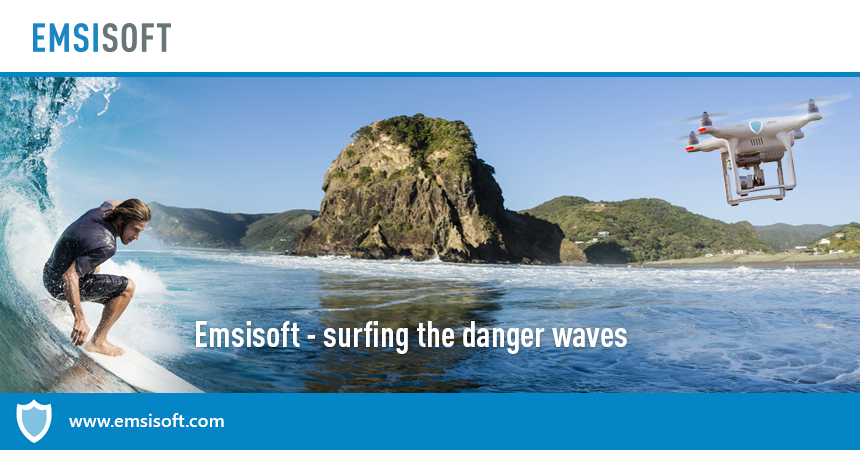 Emsisoft – Surfing the waves of danger