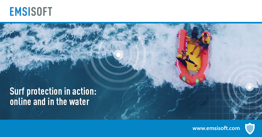 Team up for better surf protection: Online and in the water