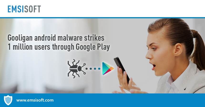Gooligan Android malware breaches 1 million Google Play accounts