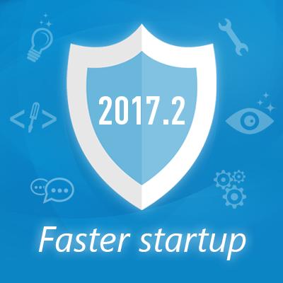 New in 2017.2: Faster software startup and more