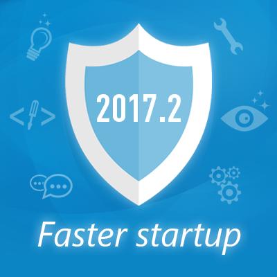 Novità nella versione 2017.2: avvio più veloce e molto altro