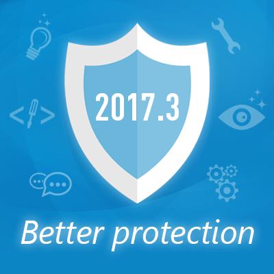 Neu in 2017.3: Verbesserter Schutz, Scannen von Wechsellaufwerken und mehr