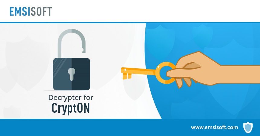 Emsisoft releases free decrypter for CryptON ransomware