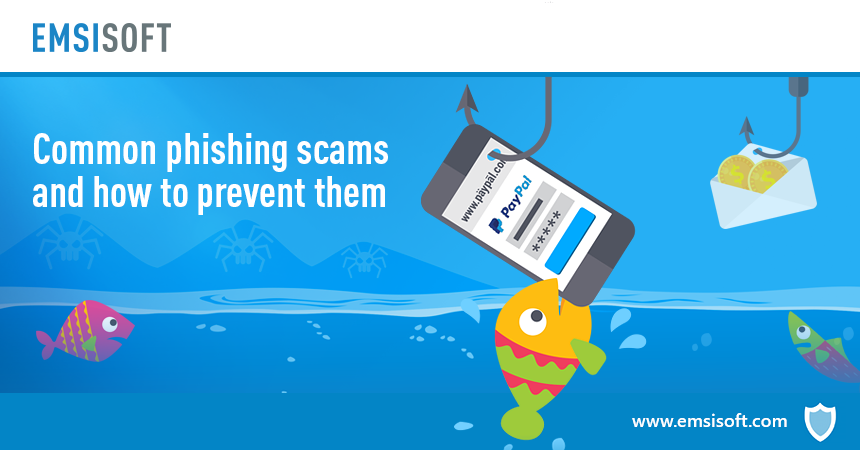 Common phishing scams and how to prevent them
