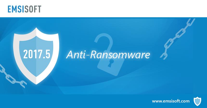 Neu in 2017.5: Anti-Ransomware