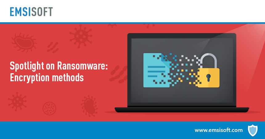 Spotlight on ransomware: Ransomware encryption methods