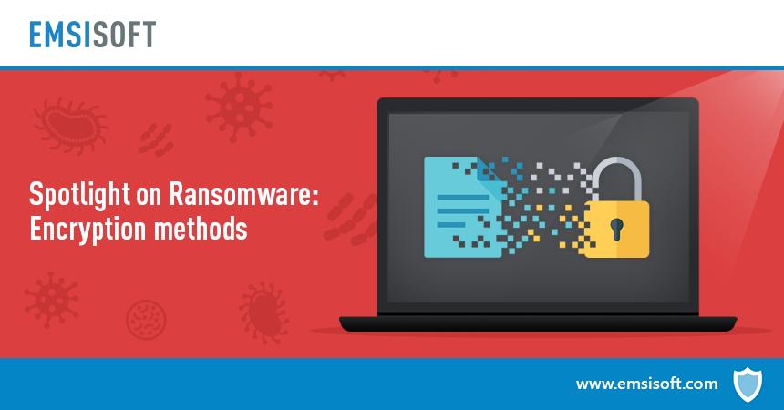 Luci sui ransomware: metodi di crittografia dei ransomware
