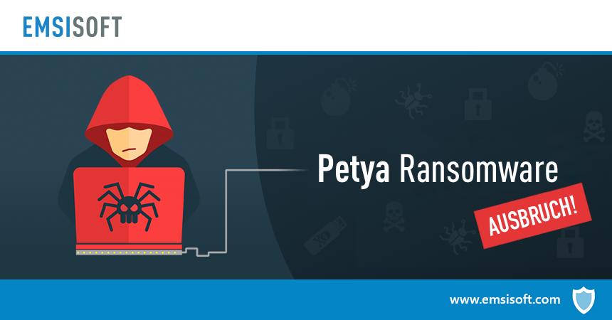 Weltweiter Angriff auf Computer durch Petya-Ransomware