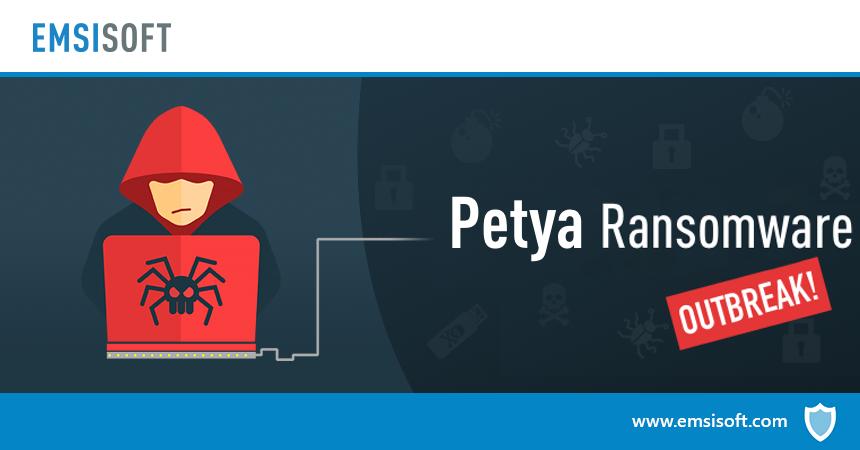 Una variante del ransomware Petya sta attaccando i computer in tutto il mondo