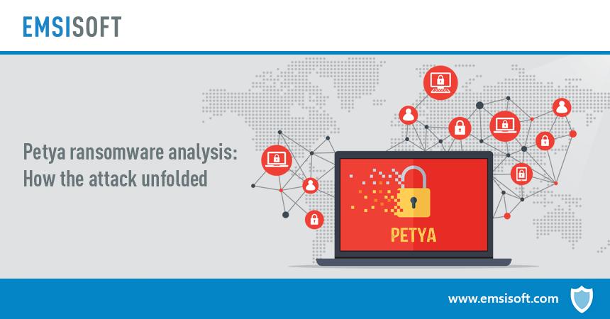Анализ шифровальщика Petya: как развивалась атака