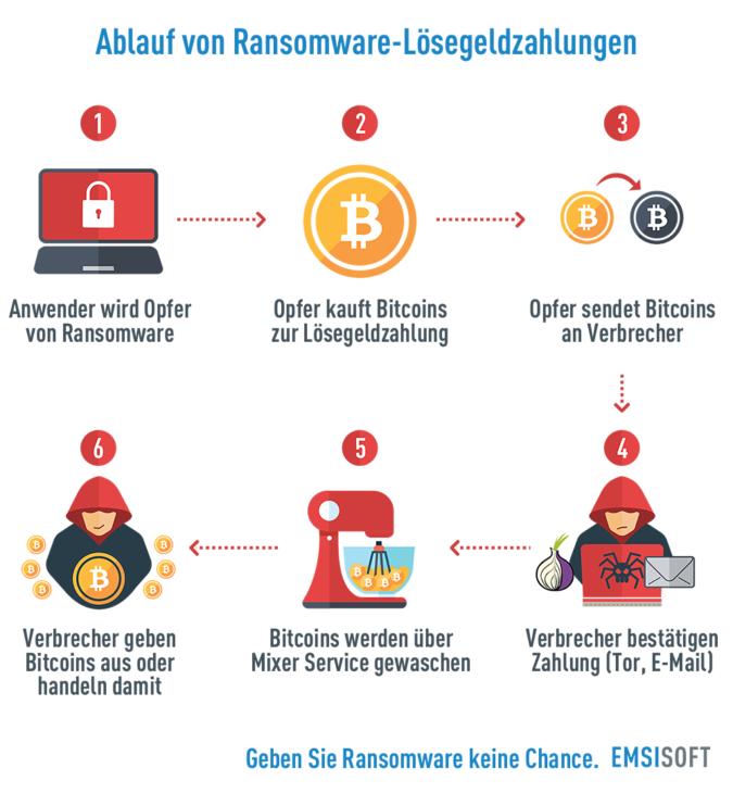 ablauf-ransomware-loesegeldzahlung-infographic