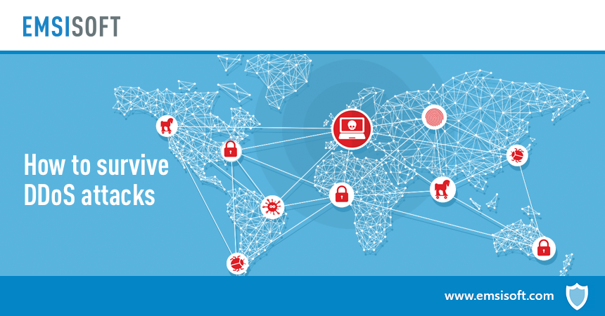 How to survive a DDoS attack on your website