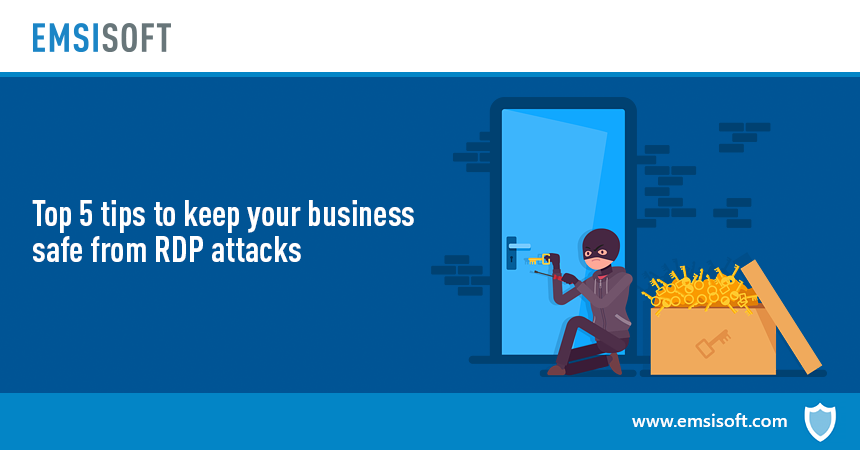 RDP brute force attacks: 5 tips to keep your business safe