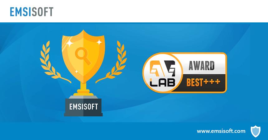 Emsisoft grabs #1 spot in AVLab's on-demand malware scanner test