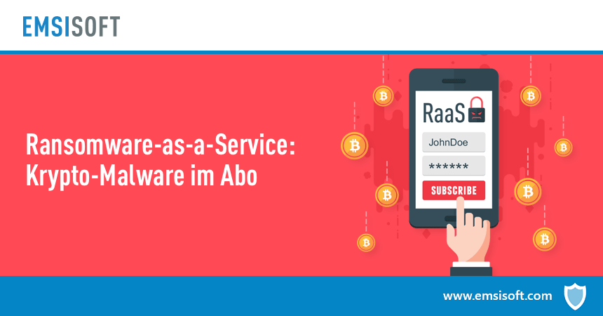 Ransomware-as-a-Service: Krypto-Malware im Abo