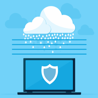Why is layered malware protection important?