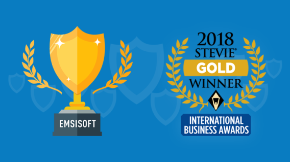 Emsisoft wins international award for ransomware removal