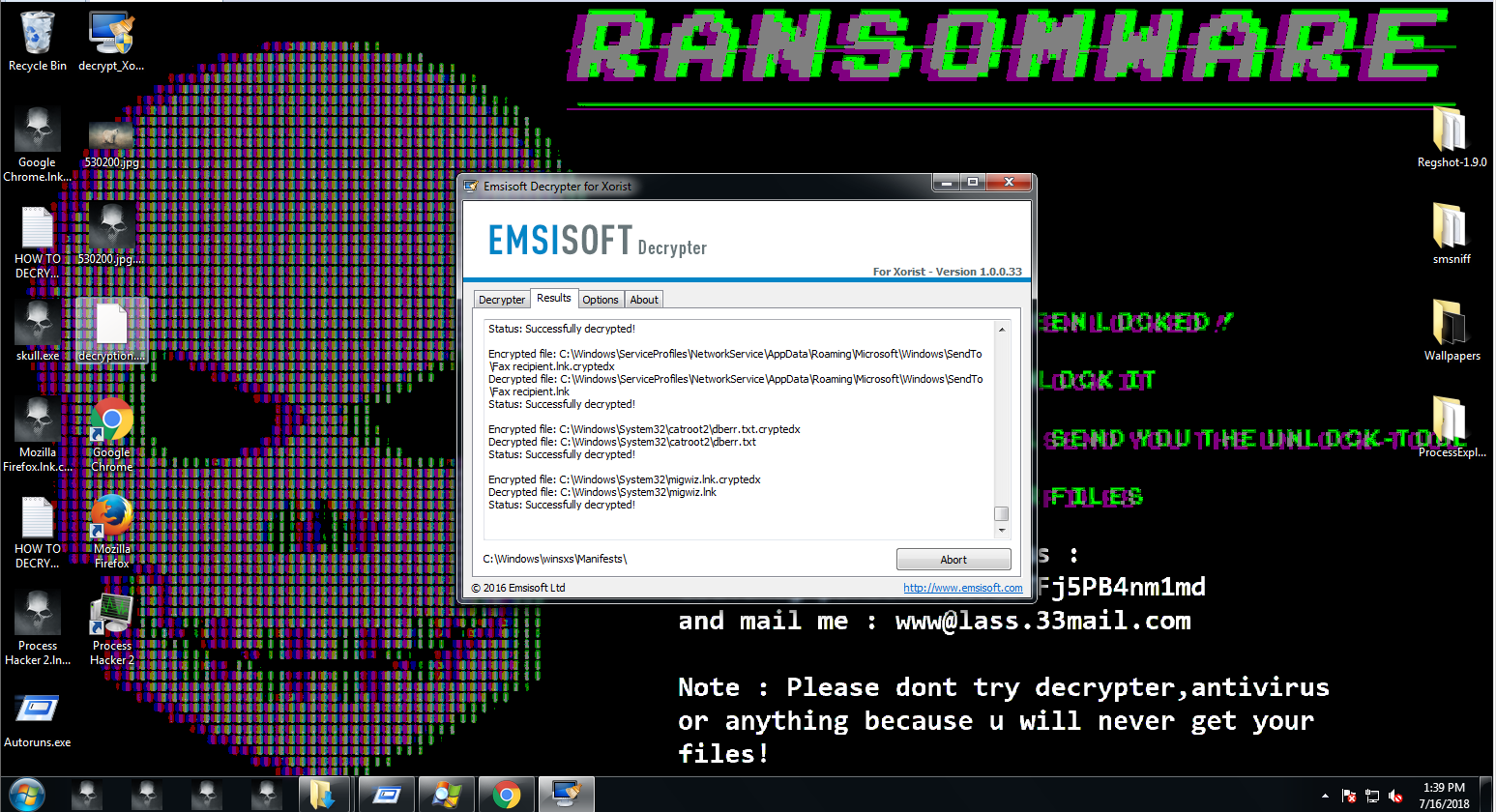 How to Perform Manual Ransomware Removal   Emsisoft