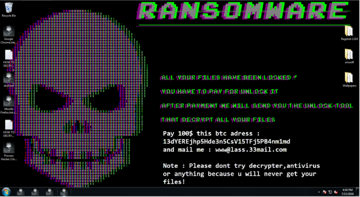Ransomware Sample - How to Perform Manual Ransomware Removal