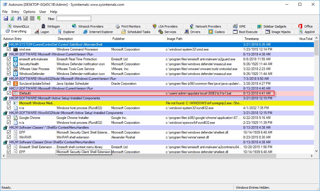 How to remove fileless malware | Emsisoft | Security Blog