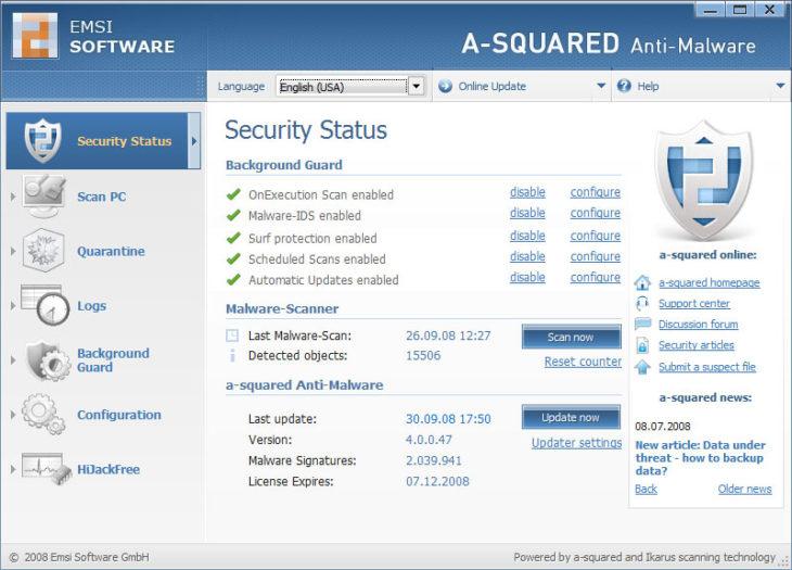 Emsisoft A-Squared Anti-Malware