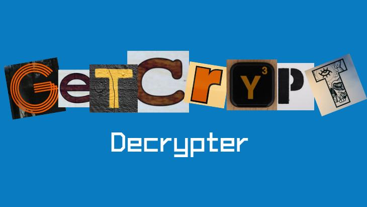 GetCrypt Decrypter